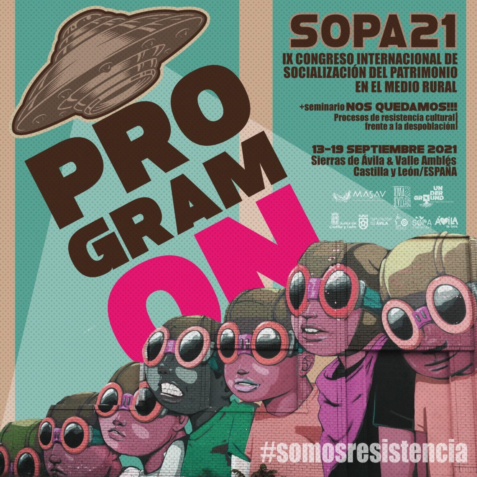 Participamos en el SOPA 21
